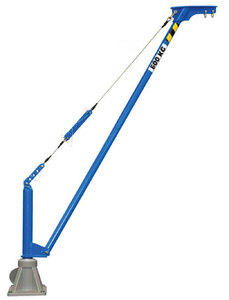 Movable aluminium jib crane COMALU 600