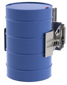 Elevador bidon metalico vertical