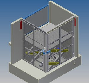 Outline 3d lifting table 2