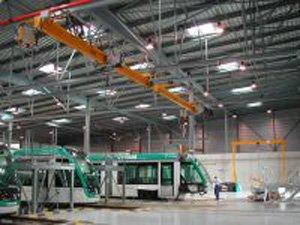 Tram factory