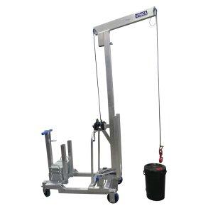 Elevador de carga de aluminio