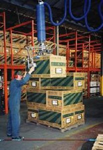 High-altitude palletization