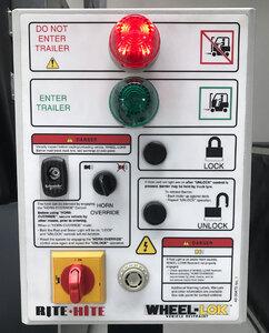 WHEEL-LOK control panel
