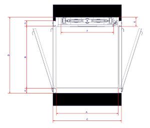 Planos medidas generales simple bastidor puertas