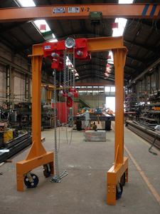 Light steel gantry industry