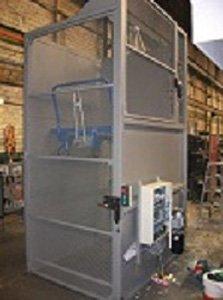 Protecciones y puertas con cerradura electrónica de seguridad