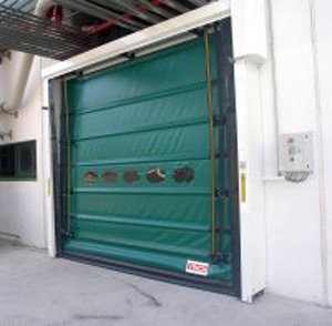 Rapid Self-Repairing Rolling Door Plus