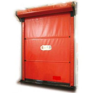 Self-repairing Rolling Rapid Door