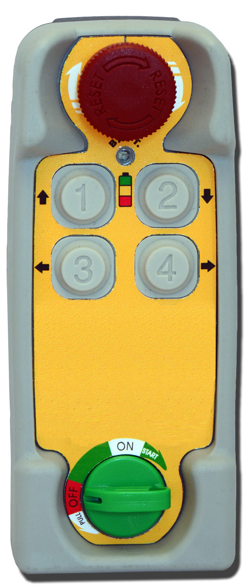 Radio control TENDER 4 buttons