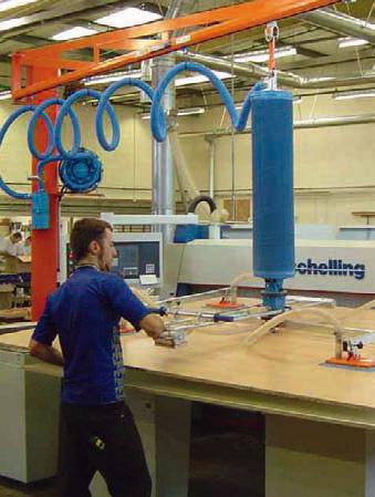 Vacuum manipulator for wooden boards 02