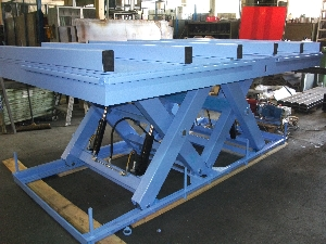 HMT tandem scissor lift table