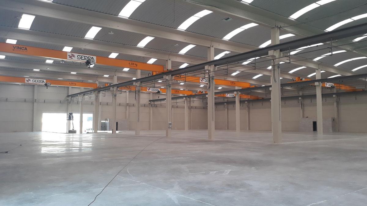 Project Talleres Serra: Gantry Crane Tandem
