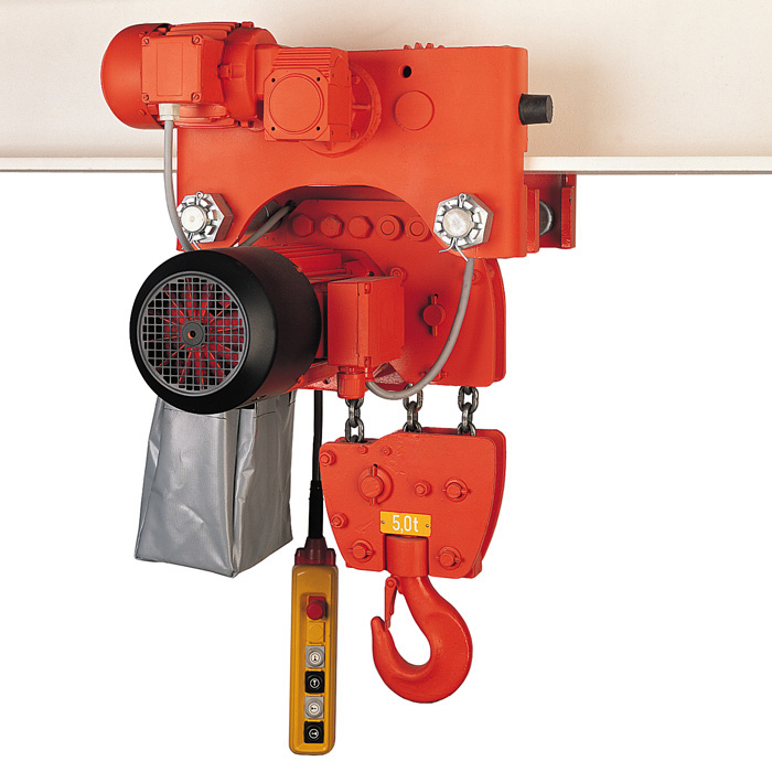 Electric chain hoist super-reduced height