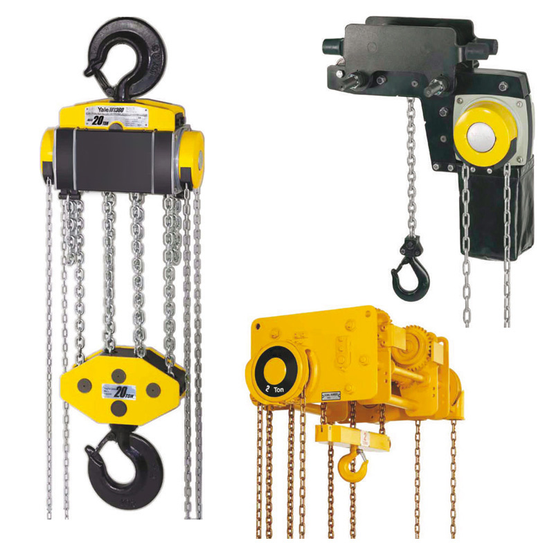 Manual chain hoist 360