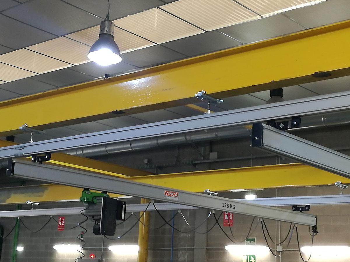 Projecte BLACKPRINT: Pont grua lleuger Profilemaster Plus