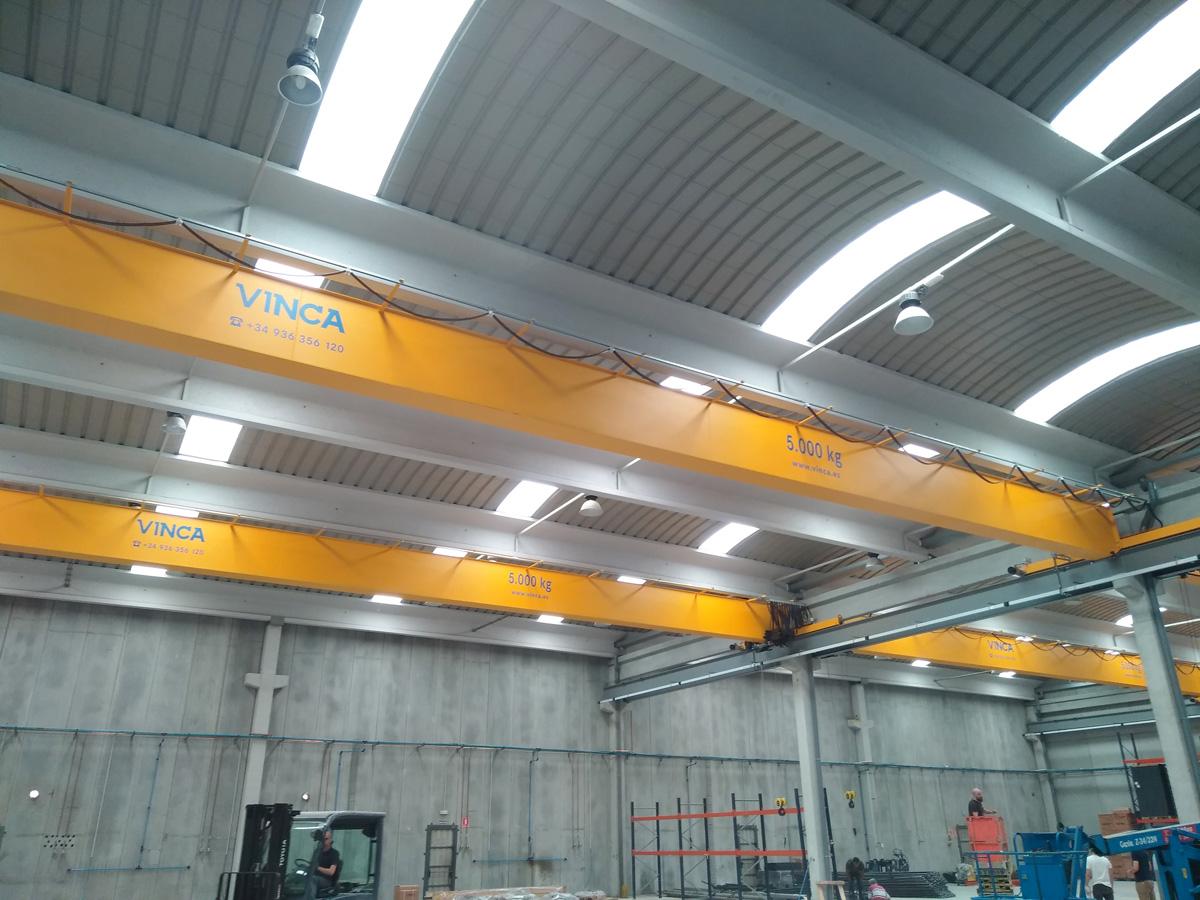 Proyecto eos refrigeration puente grua 141005