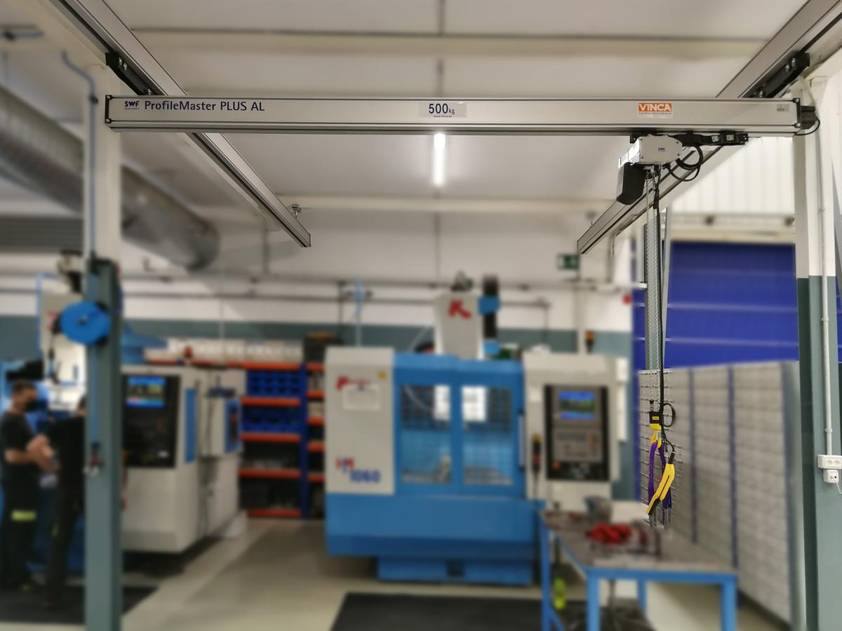 ITC PACKAGING: Pont roulant léger en aluminium