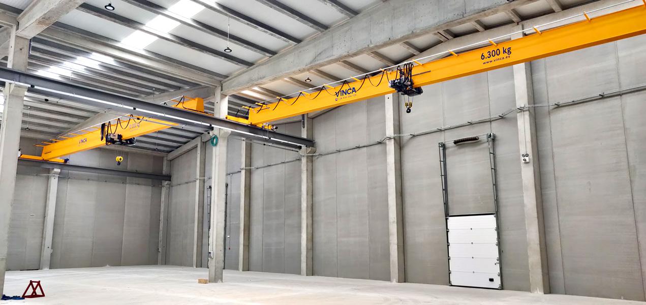 SIGMA Project: Monorail bridge crane