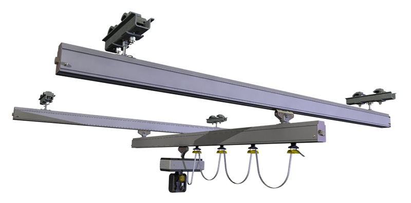 Bridge lightweight crane alu ligsther monorail