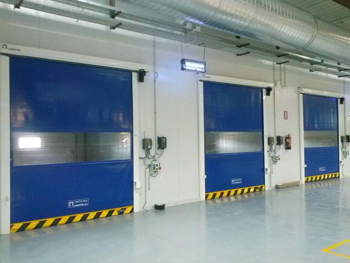 Puerta industrial practic roll 03