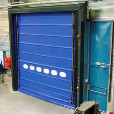 Porta ràpida plegable impactable VECTORFLEX XL