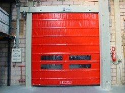OPENFRY fold up high speed door