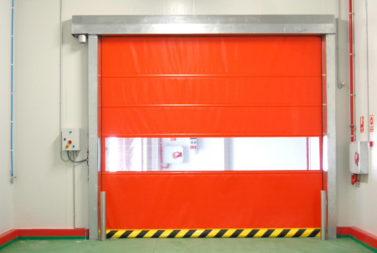 SUPER-ROLL High speed automatic roll-up door
