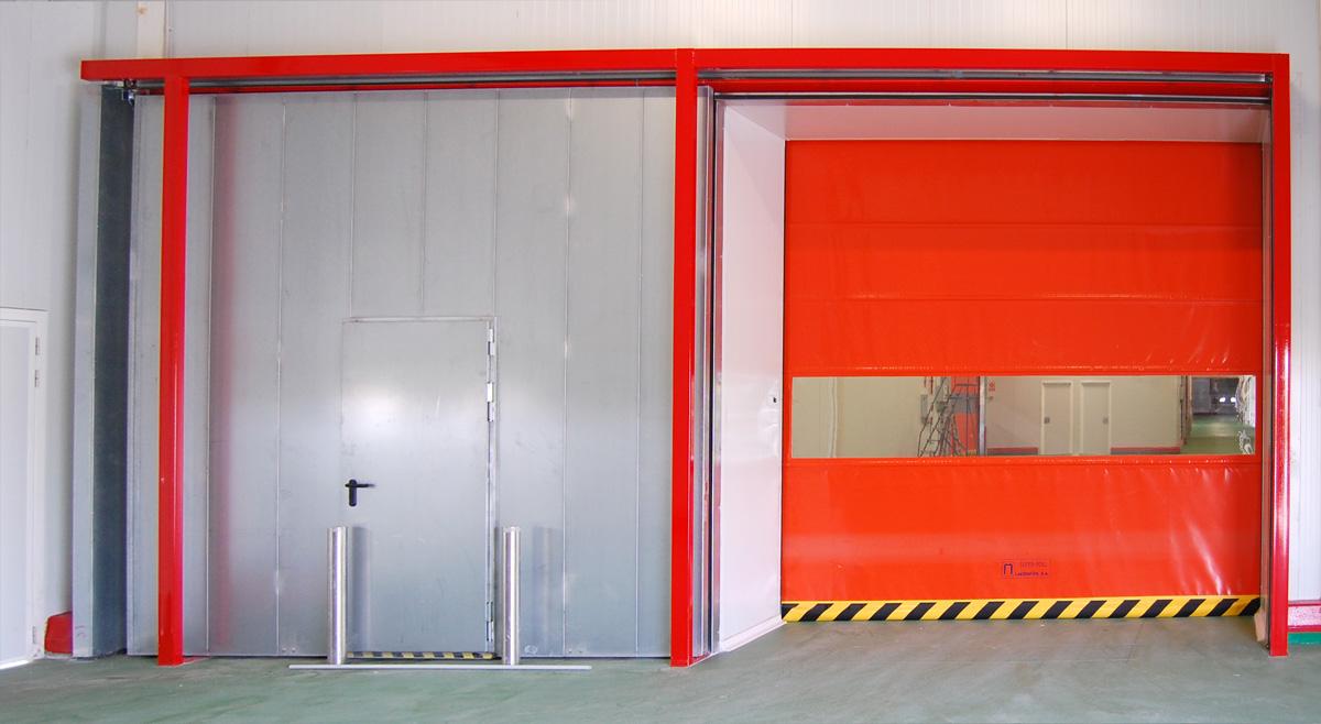 Puerta super roll 6818