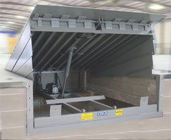 Rah automatic loading ramp