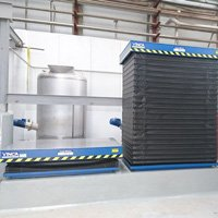 Gelatines Juncà Project: HM Reinforced lifting tables HM