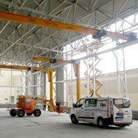 GAPTEK Project: Single Girder Crane