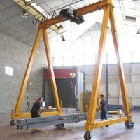 Self-propelled gantry crane WGR