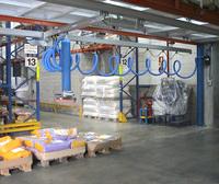 Manipulador de Vacío para Sacos Bajo Puente de Aluminio