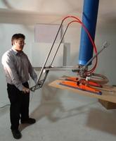 Manipulador de Vacío TROMPEX para Tableros con Mando Telescópico