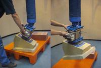 Manipulador Vacío TROMPEX para Bloques de Piedra