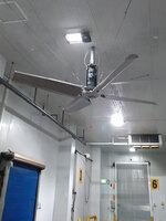 Proyecto realizado con ventilador industrial de techo