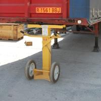 Pie de trailer