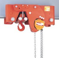 Manual chain hoist height super reduced