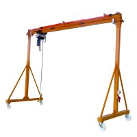 Steel manual light gantry