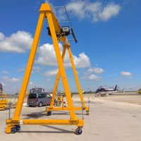 BABCKOK project: self propelled gantry crane WGR