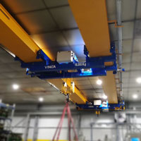 DAFE Project: Double girder crane with double suspended trolley