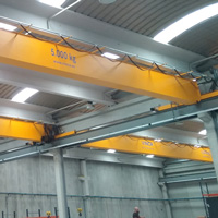 EOS Project Cooling Bridge Crane