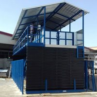 GRUPO JORGE Project: Scissor tables for livestock unloading
