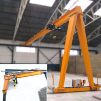 JSR Project: Gantry grane and wall manual jib crane