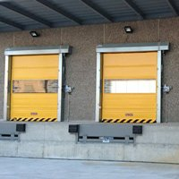 MORCHEM Project: Industrial ramps and doors