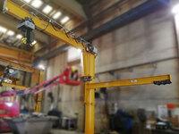 Plumas giratorias motorizada para Metalogenia