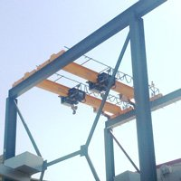 Atechbcn Project: Bridge crane monorail