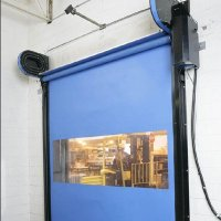Self-repairing roll-up door FASTRAX