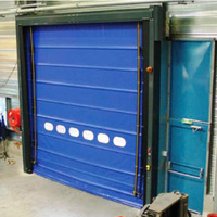 Rapid roll-up door, impact-resistant vectorflex xl
