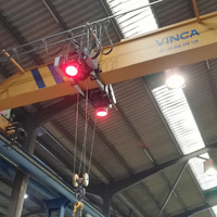 luces de seguridad. Focos Led rojos